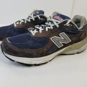 New Balance 990 Running Shoe Size 13 D Blue White